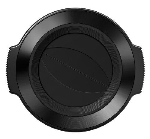 Olympus LC-37C - Tapa de Apertura automática para Objetivo EZ-M 14-42 mm, Negro
