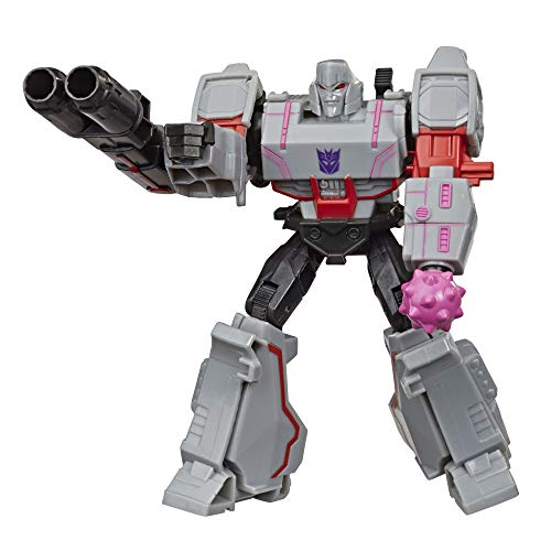 Transformers Bumblebee Cyberverse Adventures Action Attackers Warrior Class Megatron Action Figure, Fusion Mace Move, 5.4-inch