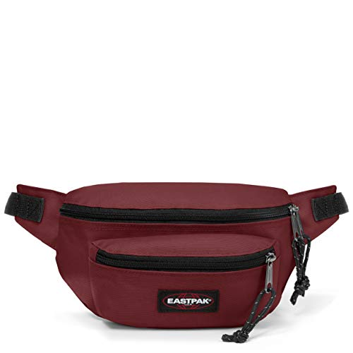 Eastpak Doggy Bag Riñonera, 27 cm, 3 L, Rojo (Brisk Burgundy)