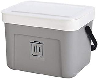 Poubelle à la maison La poubelle créative murale peut façonner la cuisine portative de salle de bains avec la poubelle de ...