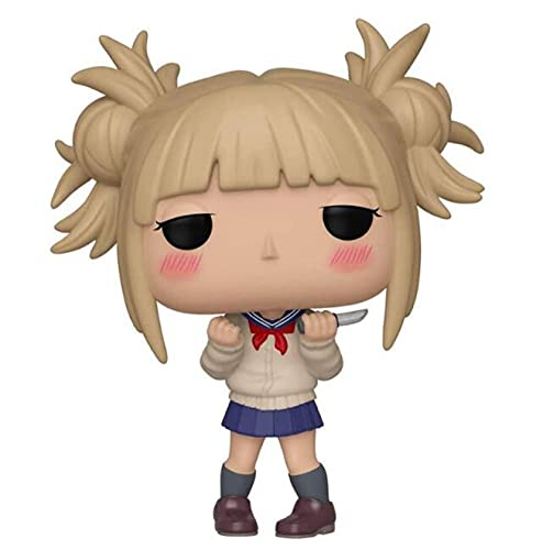 My Hero Academia Kawaii Himiko Toga 610 10Cm Pop Vinilo Figura Colección Modelo Juguetes Regalos para Niños