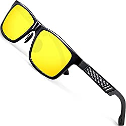 professional Al-Mg6560 Yes Metal Frame ATTCL Polarized Night Driving Glass for Men