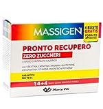 Massigen Pronto Recupero, Zero Zuccheri - 14+4 Buste, Totale: 18 Buste...