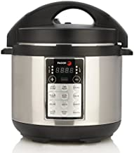 Fagor LUX Multi-Cooker, 4 quart, Electric Pressure Cooker, Slow Cooker, Rice Cooker, Yogurt Maker and more, Silver - 670042050
