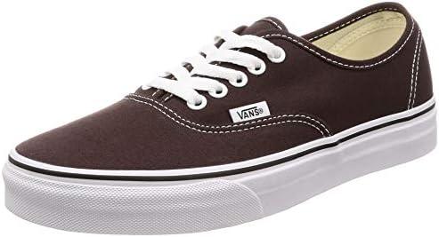 Vans Authentic Chocolate Torte/True White Sneaker, Chocolate Torte ...