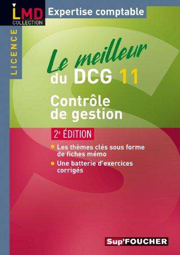 Le meilleur du DCG 11 Contrôle de gestion 2e édition