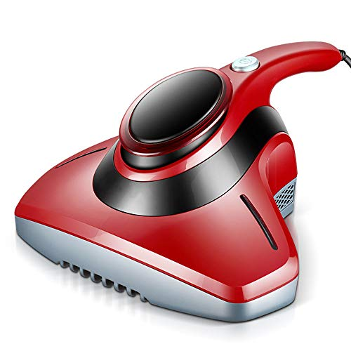 Aspirador De Ácaros UV Que Incluye Filtro HEPA, Aspirador De Colchón, Que Elimina El Polvo Y La Caspa, Ideal Para Alérgicos Y Dueños De Mascotas Para La Protección Del Hogar Contra Los Ácaros,Rojo