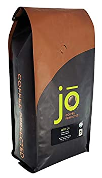WILD JO  2 lb | Dark French Roast Organic Coffee | Whole Bean | Bold Strong Rich Wicked Good | Great Brewed or Espresso | USDA Certified Fair Trade Organic Arabica Beans | Non-GMO Gluten Free