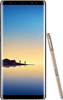 Samsung Galaxy Note 8 Single SIM - 64GB, 6GB RAM, 4G LTE, Maple Gold