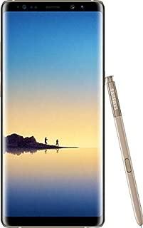 Samsung Galaxy Note 8 Single SIM - 64GB, 6GB RAM, 4G LTE, Maple Gold