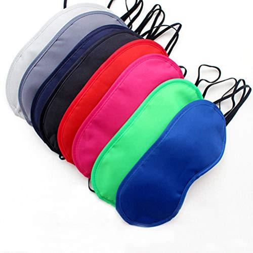 SUPVOX 12 stücke Multicolor Augenmaske Naturseide Schlafmaske Leichte und Komfortable Augenmaske Augenbinde Schlafmaske für Kinder Frauen Männer