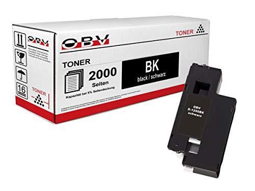 OBV kompatibler Toner schwarz für Dell 1250 / 1250C / 1350 / 1350CNW / 1355 / 1355CN / 1355CNW / Große Kapazität 2000 Seiten
