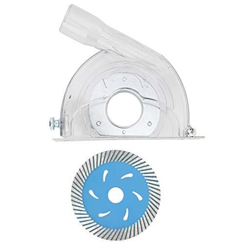 QPLKL Zimmerarbeiten Schleifen Abdeckung Staubfänger B-110A Grinder Cutting Hood und 114 Disc Hardware Zubehör Dust Cover Collector