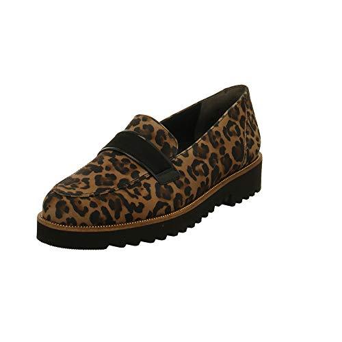 Paul Green Damen Slipper 2543-015 Animal 710629