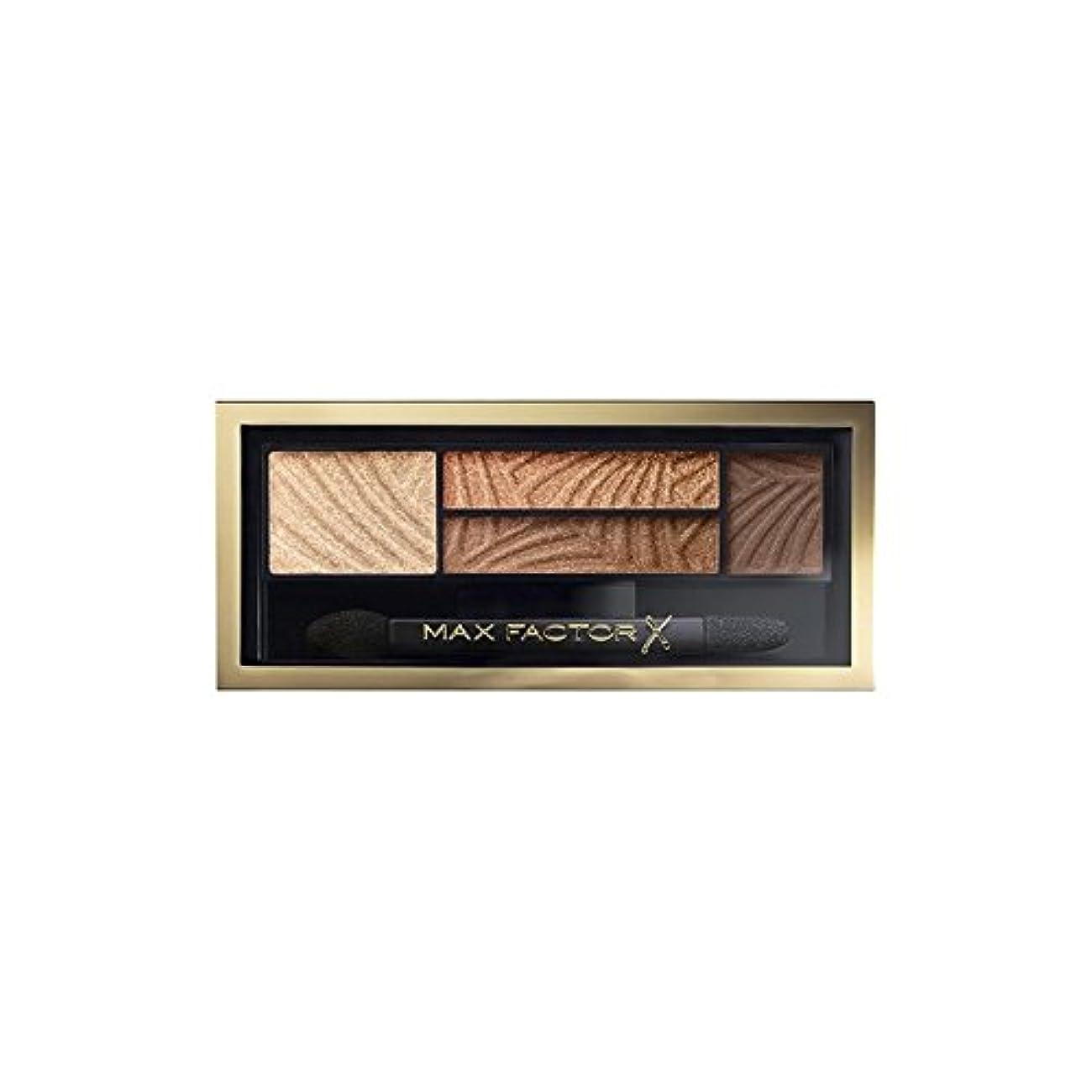 苦味凍結クラスマックスファクタースモーキーアイ豪華な金 x4 - Max Factor Smokey Eye Eyeshdow Sumptuous Gold (Pack of 4) [並行輸入品]