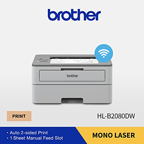 Brother HL-B2080DW Mono Laser Printer with WiFi Printing and Auto Duplex
