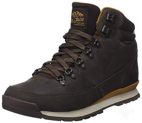 The North Face Herren Back-to-Berkeley Redux Leather Trekking-& Wanderstiefel, Braun (Chocolate Brown/Golden Brown 5sh), 45 EU