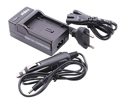 vhbw Cargador batería Compatible con JVC BN-V408, BN-V408U, BN-V416, BN-V416U, BN-V428 baterías...