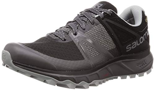 Salomon Trailster Gtx, Herren Traillaufschuhe, Schwarz (Magnet/Black/Quarry), 44 EU (9.5 UK)