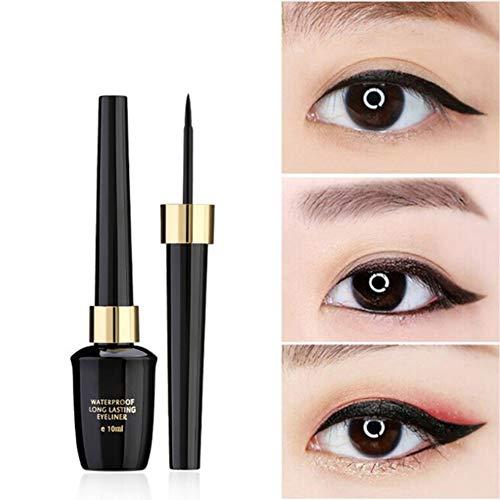 Cocohot Flüssiger Eyeliner, Fine Liquid Eyeliner Pen Eyeliner Wasserdichtes, Lang Anhaltendes Augen-Make-up