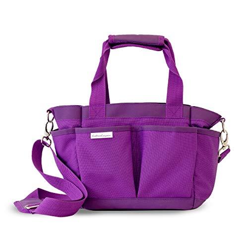 Gemini Tote Bag, Purple