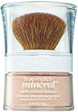 L'Oreal Paris True Match Mineral Loose Powder Foundation, Natural Ivory, 0.35oz