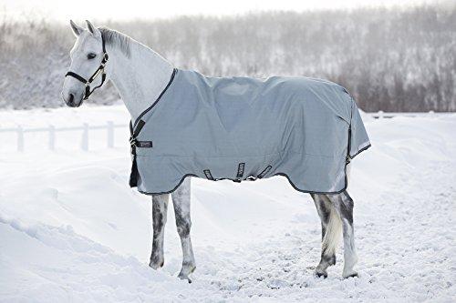 Horseware Rambo Original lite 100 g mit Beinausschnitt Regendecke Weidedecke grey (165)