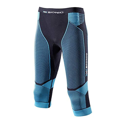 X-Bionic Running Effektor Power OW Pantalone, Donna, Nero/Turchese, L