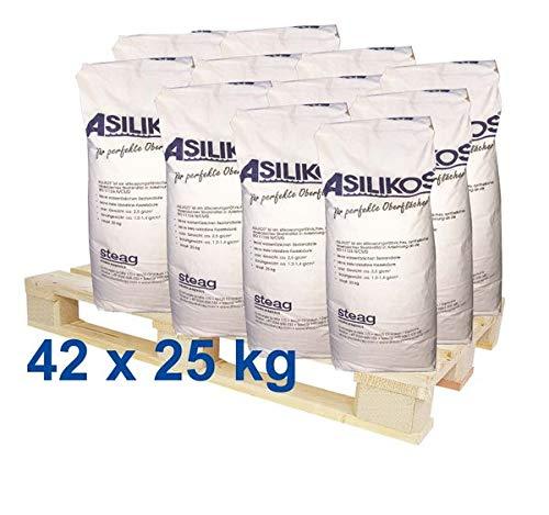 ASILIKOS Strahlmittel 0,2-1,0 mm 1050 kg - Sandstrahlen Strahlen Sand