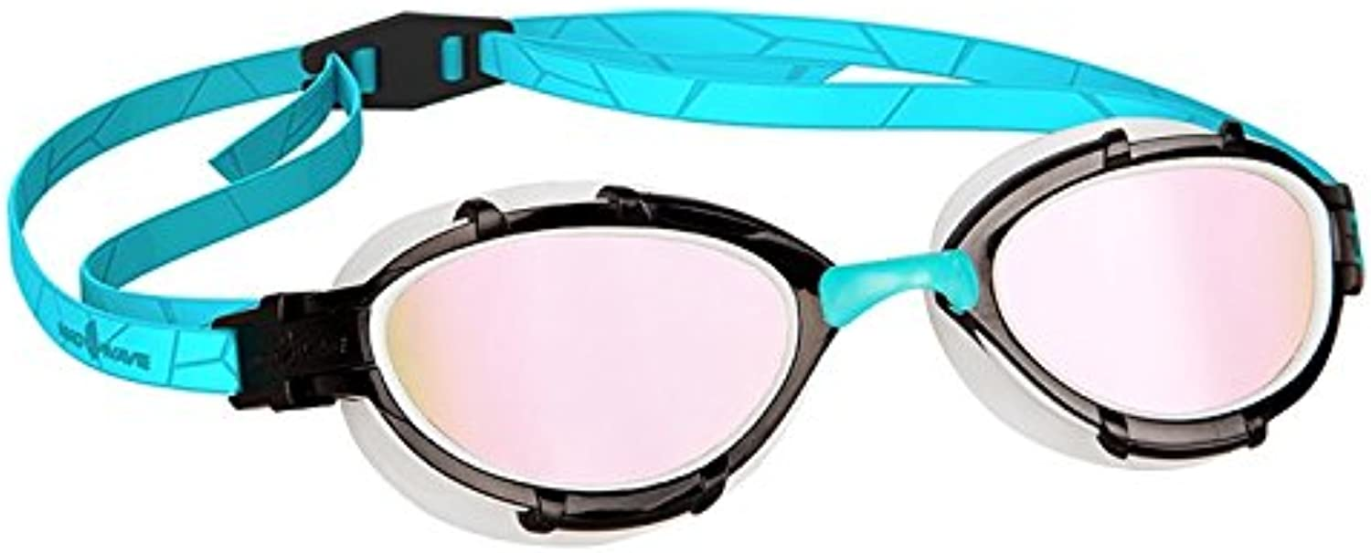Mad Wave Triathlon Rainbow Mirrored Azure