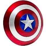Escudo Capitan America 1: 1 58CM Material ABS, Adulto NiñOs Apoyos de PelíCula CapitáN AméRica Shield Disfraz Shield, DecoracióN de Pared de Bar