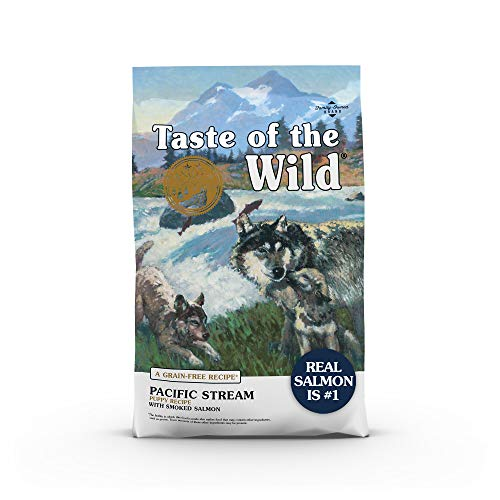 Taste of The Wild Grain Free Premium High Protein Dry Dog Food Pacific Stream Puppy - Smoked Salmon