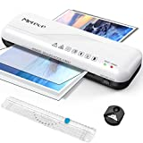 Merece Laminator - A4 Laminator Machine, Thermal Laminator for Home Use School Teachers Office Card Classroom, 9 Inches Small Hot Cold Lamination Machine with 30 Laminating Sheets (White)