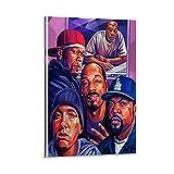 GUCII Ice Cube Dr DRE Snoop Dogg Eminem Leinwand Kunst