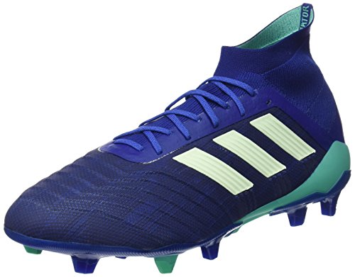 adidas Predator 18.1 FG, Zapatillas de Fútbol Hombre, Azul (Uniink/aergrn/hirblu Uniink/aergrn/hirblu), 40 EU ⭐