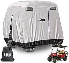 10L0L Newest 4 Passenger Golf Cart Cover Storage Cover 400D Roof 80