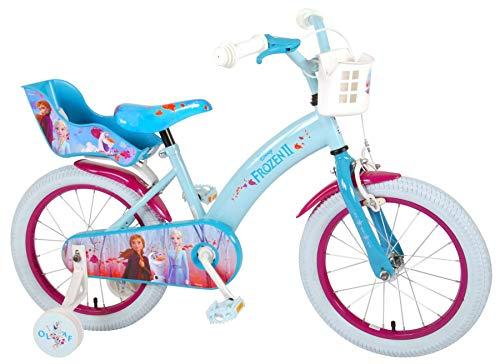 Eiskönigin 16 Zoll Kinderfahrrad Fahrrad Dreirad Disney Frozen Anna ELSA 51661CH