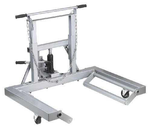OTC 1669A 1,500 Lb. Capacity, Adjustable Height Dual Wheel Dolly for Large Trucks