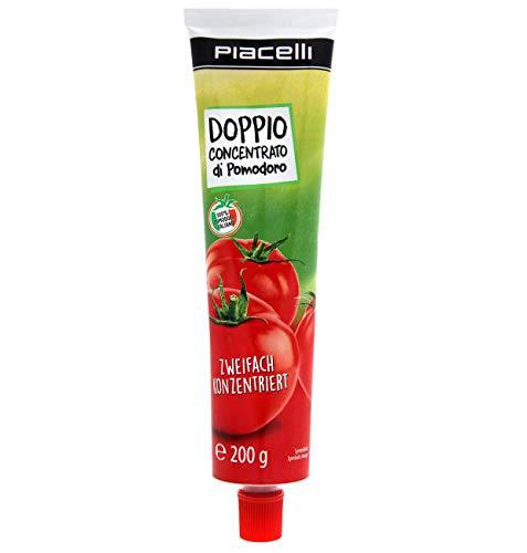 Tomate Concentrado Tubo 200gr (1 caja de 15 tubos, 3 kilos tomate concentrado) Doppio
