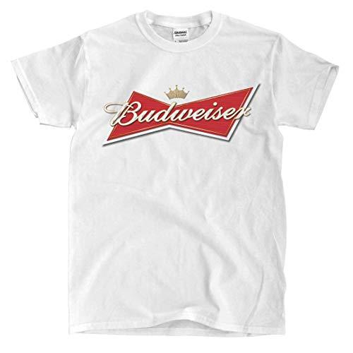Budweiser - White T-Shirt (Medium)