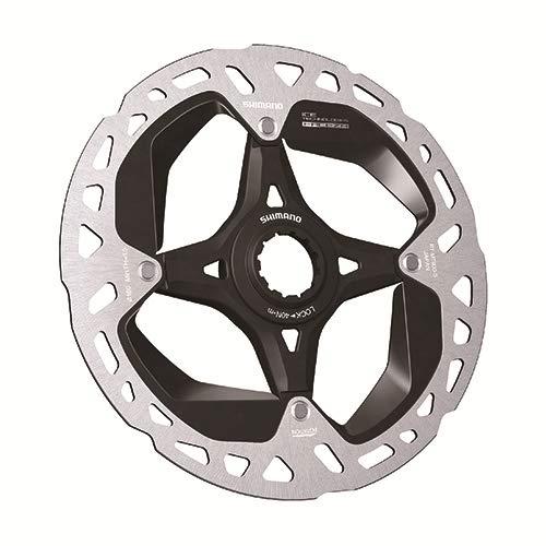 SHIMANO Disco 160MM C.Lock XTR MT900 I/T Freeza Ciclismo, Adultos Unisex, Multicolor(Plateado/Negro)