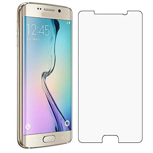 Gehard glas compatibel voor Galaxy S6, Ellenne® [Anti-Reflex-UltraClear] Ultra-resistent van gehard glas - verpakking met 2 glazen ruiten.