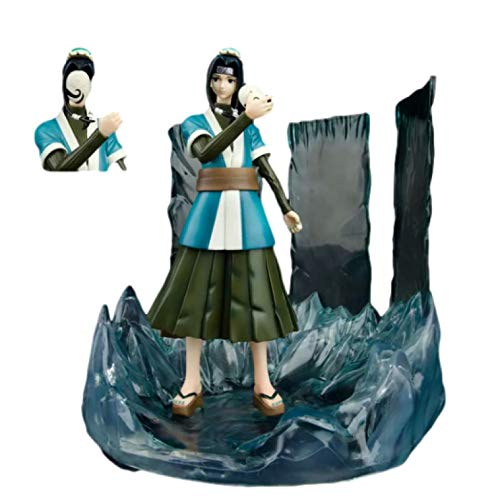 25Cm Anime Naruto Gk Haku Figuras de accin Espejo mgico Cristal de Hielo Mueca de Vinilo Blanco Momochi Zabuza Retinue Coleccin Modelo de Juguete