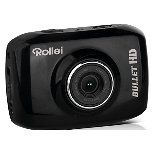 Rollei RL40235 Action Camera Bullet Youngstar 720p con Custodia Nero