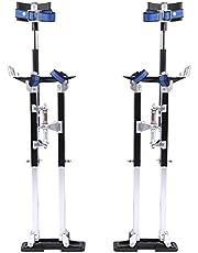 Herramienta zancos de aluminio para alturas, para placas de yeso laminado, de 61 x 102, altura ajustable para pintores, cintas de pintura