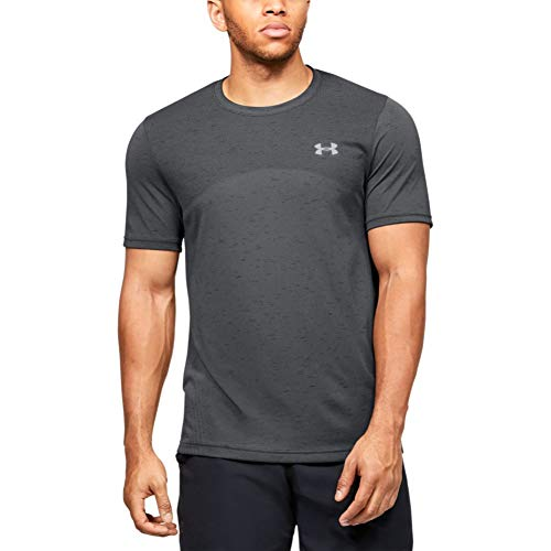 Under Armour UA Rush Short Sleeve, T-Shirt Homme, Rouge (Martian Red/Black (647)), M