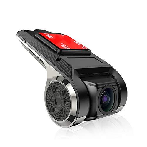 Dash CAM HD 1080P Cámara de automóvil DVR DVR Dashboard Cámara Video Recorder USB Hidden Order Recorder Android System System Navigation Dedicado Mini Car DVR Video Smart GPS ADAS,Dvr