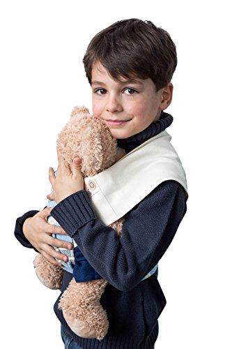 Babytuch - das Tragetuch ohne Knoten Puppentuch * für Puppenmütter und Teddy-Daddys * zum Tragen von Puppen und Plüschtieren (1, Natur)