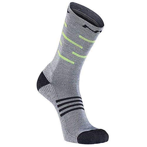 Northwave Extreme Pro High Winter Fahrrad Socken grau/gelb 2021: Größe: L (44-47)