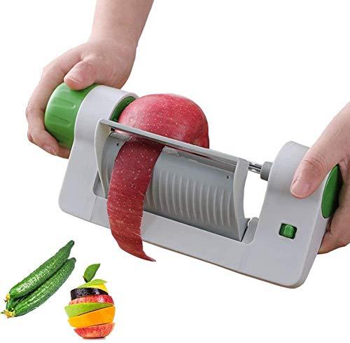 Multifunktionsschäler, Gemüsehobel, Obstschneider, Gemüseschneider, Obstschäler für Küche, Obst, Gemüse, Küchenwerkzeug kann Gemüse auf die gewünschte Länge schneiden